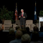 Newt Gingrich speaks during the CEA Southeast Energy & Opportunity Forum in Myrtle Beach, S.C.