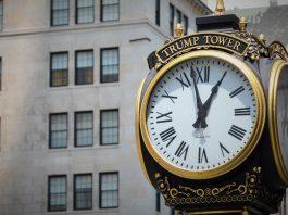 Trump Tower Clock