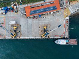 Solar at Georgia Port