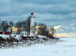 Michigan Upper Peninsula in Winter