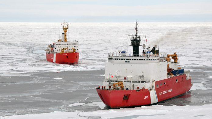 US Coast Guard in Arctic