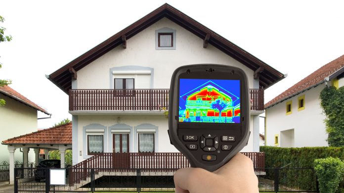 Energy audit of house