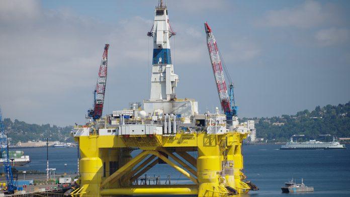 Arctic offshore drilling rig