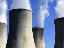 Power plant cooling towers