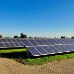Large solar installation