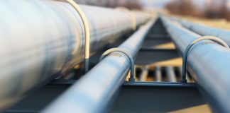 Stack of pipelines