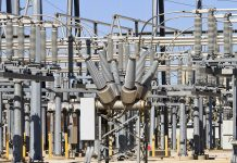 Electricity transmission substation transformers