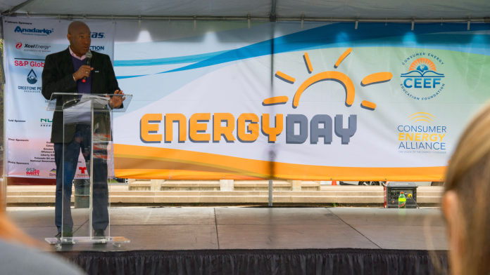 Dr. Peter Green at Colorado Energy Day