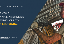 Vote Yes on Louisiana Amendment 1