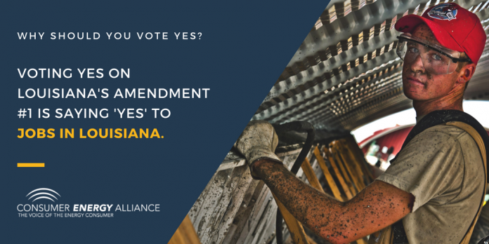 Vote Yes on Louisiana Amendment 1