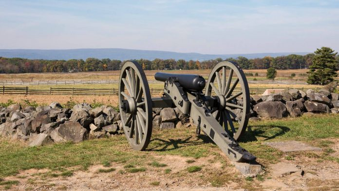 Pennsylvania Gettysburg Canon